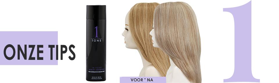 Tip: shampoo tegen verkleuring echt haar