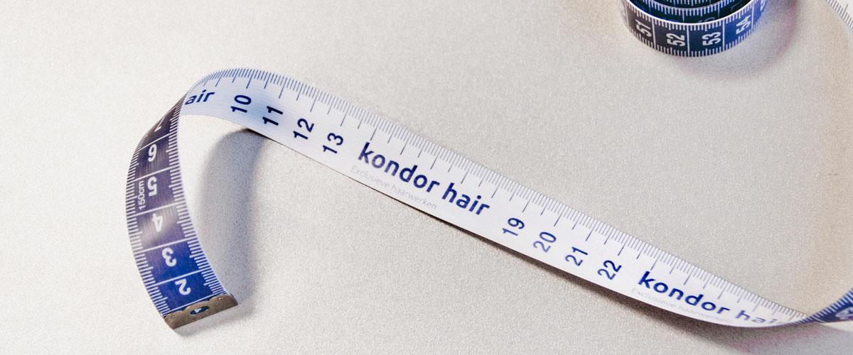 Hoe meet u de hoofdmaat van uw klant?